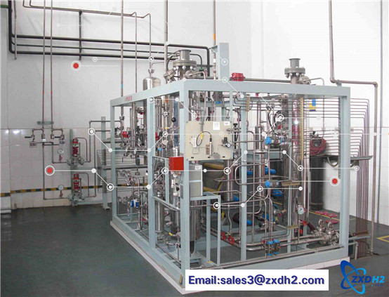 Solar hydrogen production system / equipment