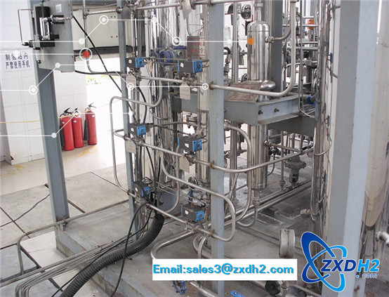Hydrogen production equipment by water electrolysis
