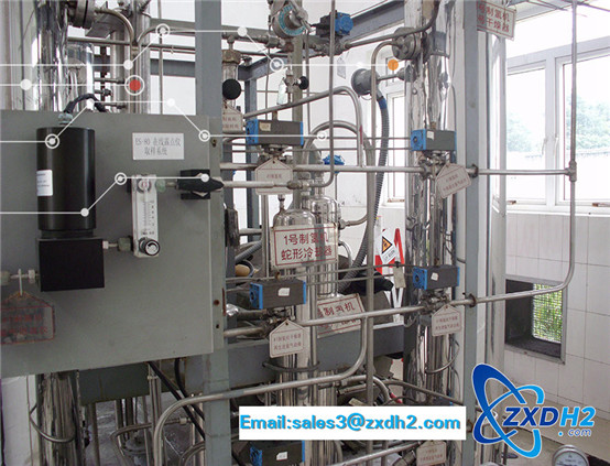 Hydrogen production equipment from electrolytic water