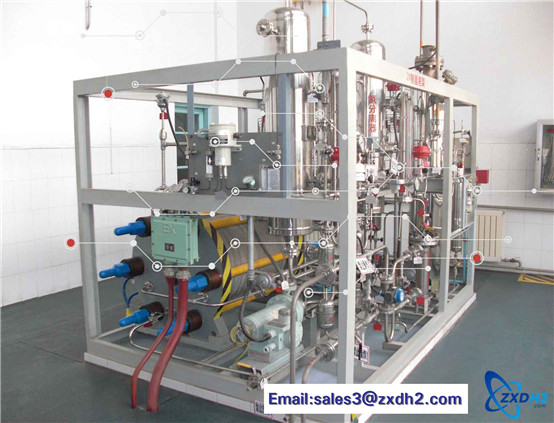 PLC control cabinet system automatic control unit for hydrogen production by water electrolysis