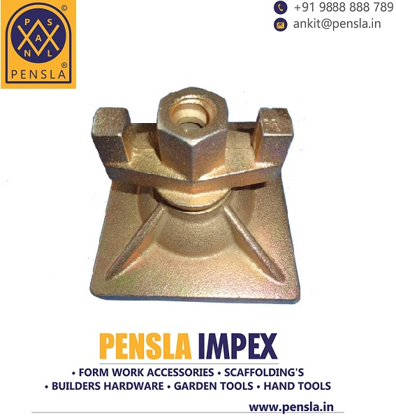 Formwork Swivel Plate with Nut