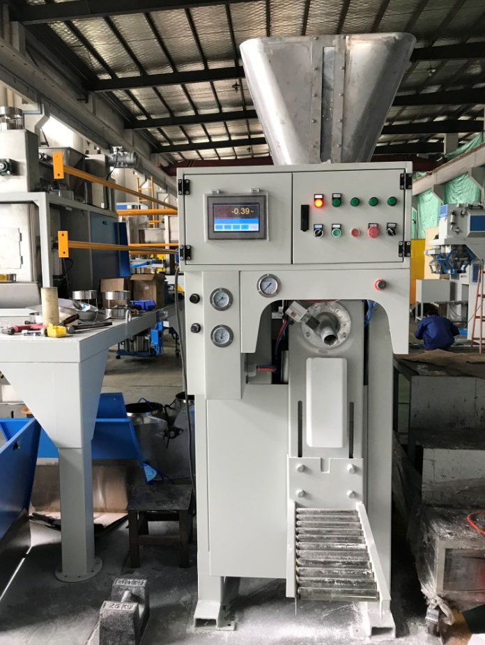 Valve Bag Filling Machine,Fully Automatic Valve Bag Packing Line   Wuxi HY Machinery Co., Ltd.