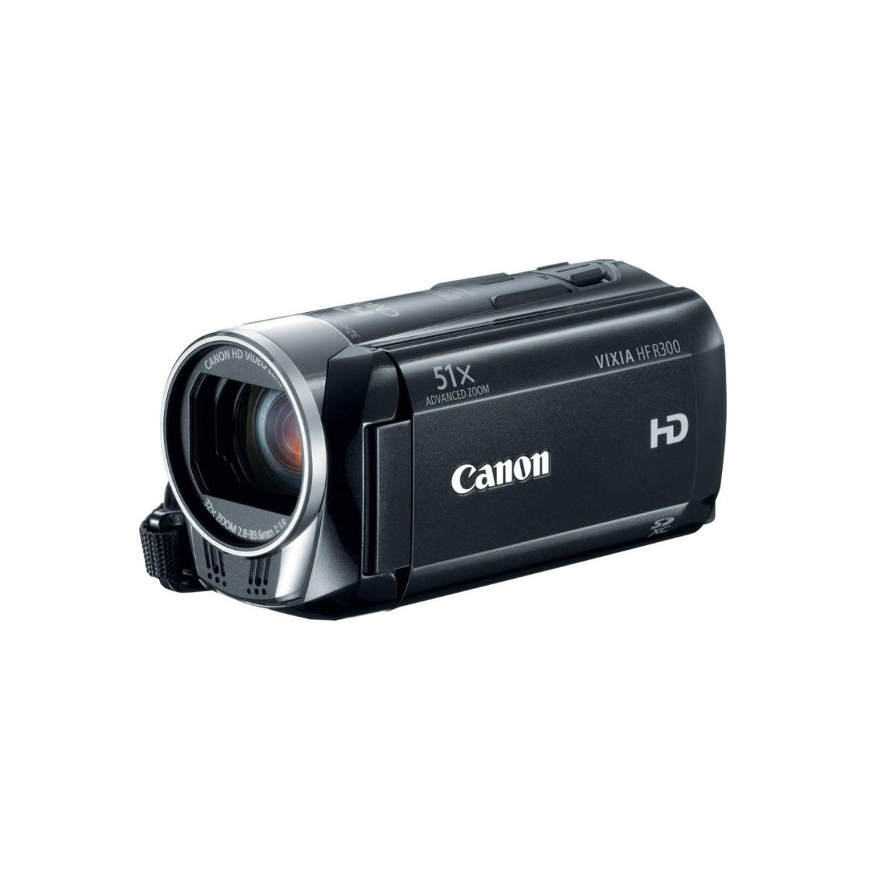 Canon HD 51x Image Stabilized Optical Zoom Camcorder