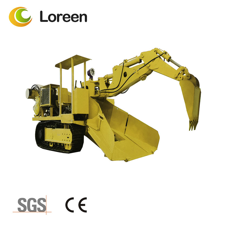 Loreen Zwy-160/55.7L Mining Tunnel Coal Rock Crawler Mucking Loader
