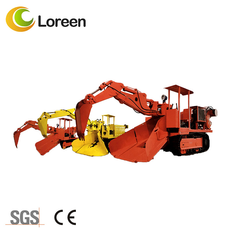 Loreen Zwy-100/45.75L Mining Tunnel Coal Rock Crawler Mucking Loader
