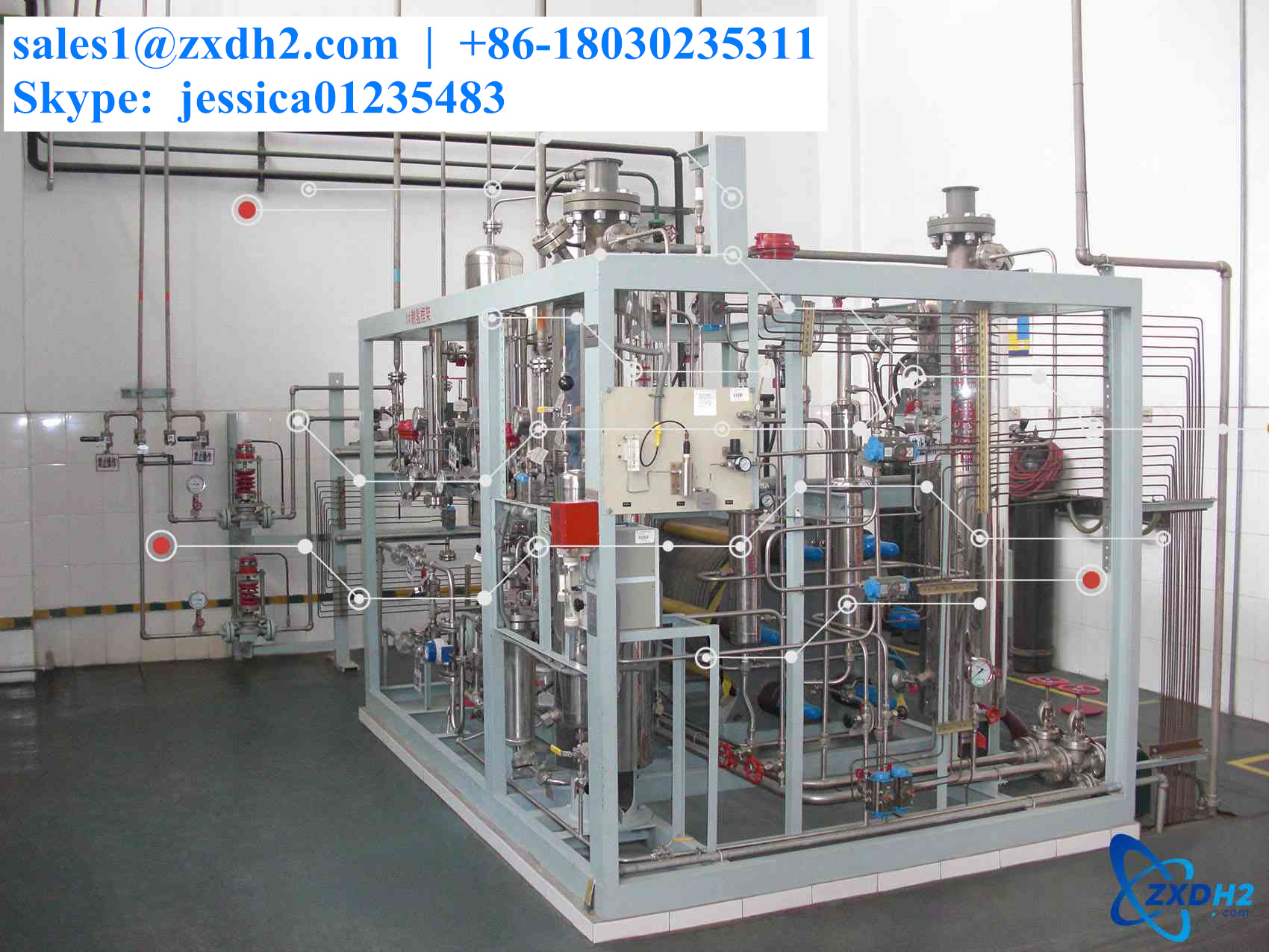 Electrolyzer of 60 m³ water electrolysis hydrogen production equipment