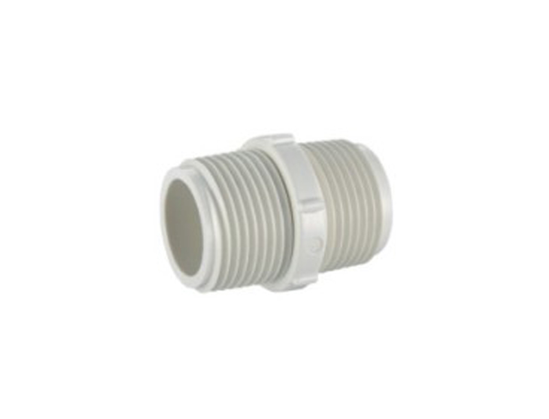 1-1/4 UPVC BS thread water system pipe fitting male coupling