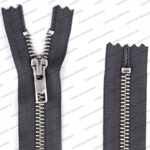 Shoe zippers //  Metal zipper