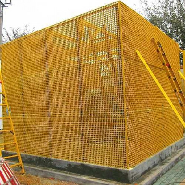 molded frp grating and frp profile pultrusion made insulating fence