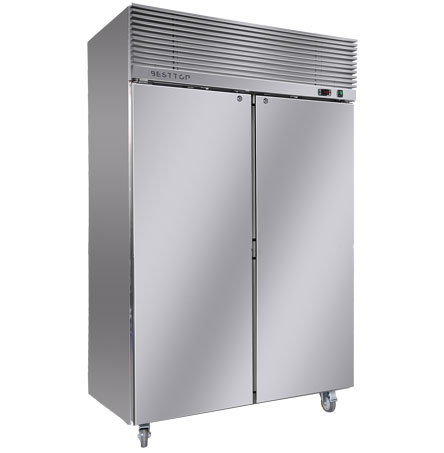 2 Door Reach In Refrigerator