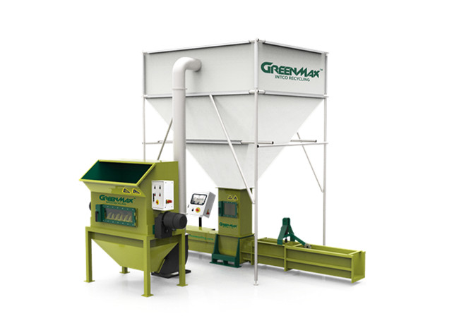 GREENMAX Polystyrene Compactor APOLO C300 for sale