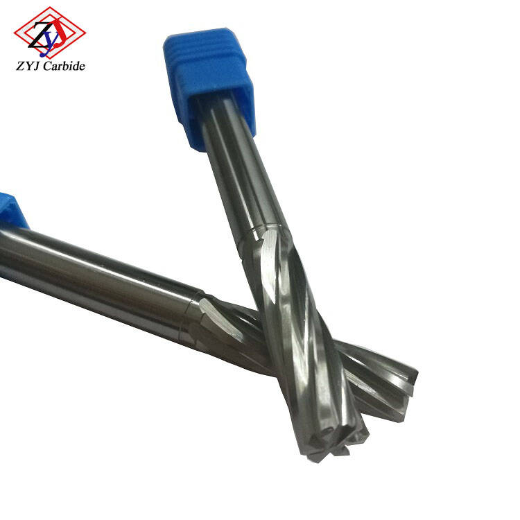 China 6 Flutes Tungsten Carbide Solid Reamer Sale