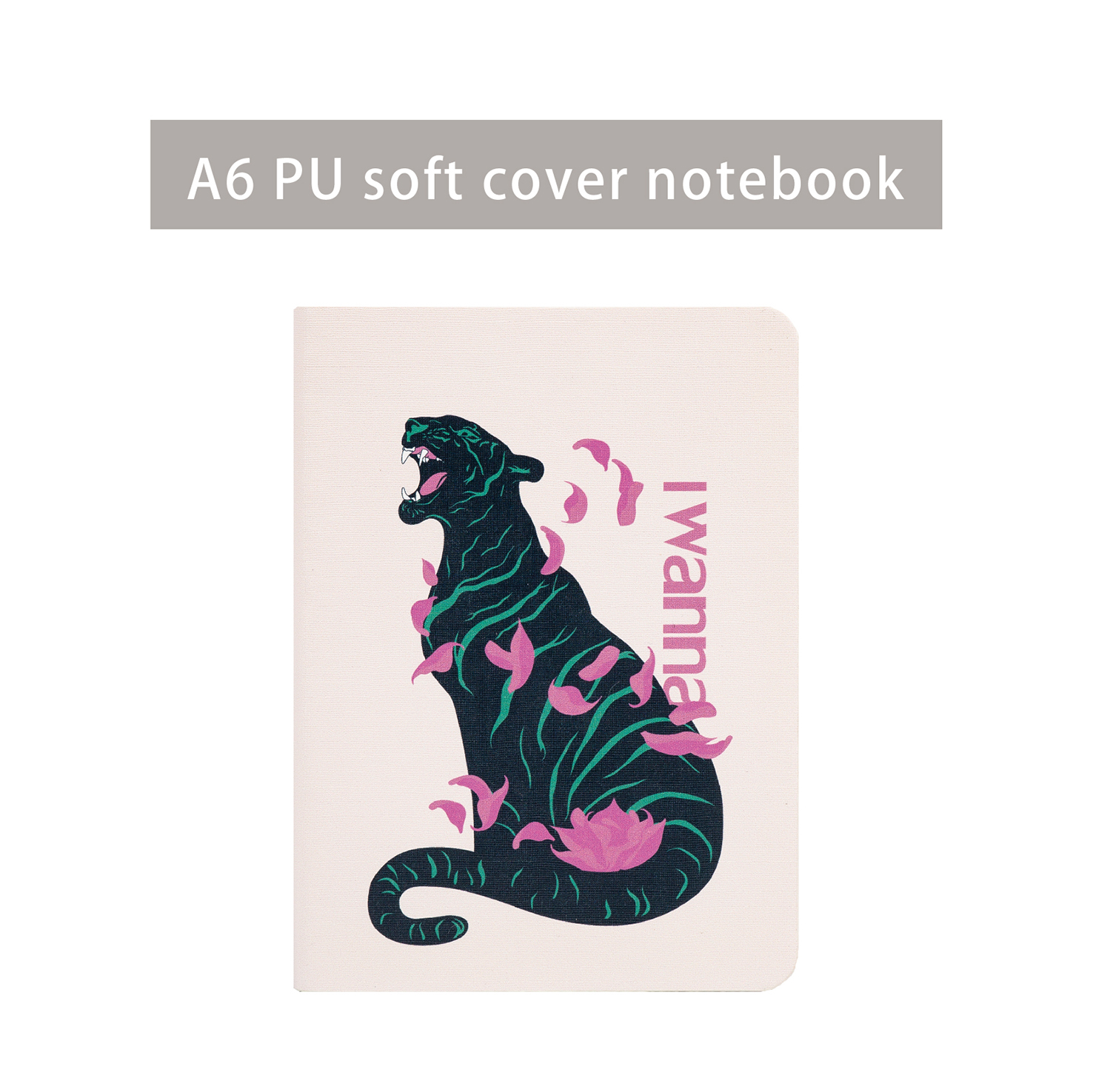 Postmodernism school A6 PU Notebook
