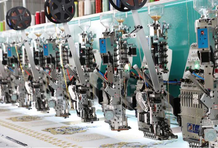 LJ-932 Sequin embroidery machine