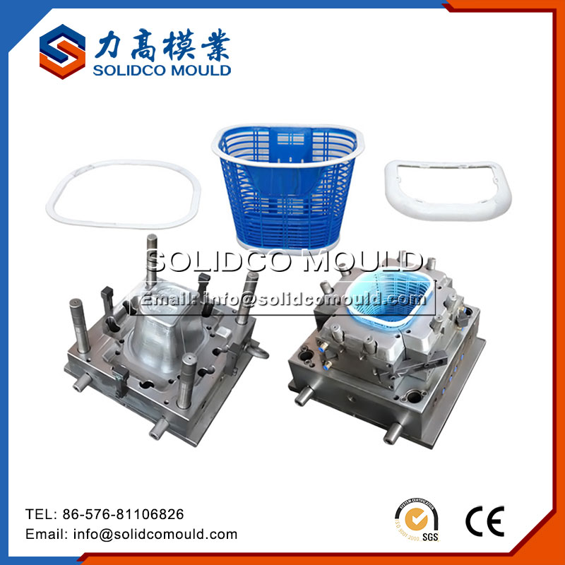 Plastic Carrier Basket Mould