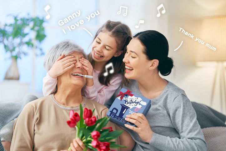 Mother's Day Musical Lollipop