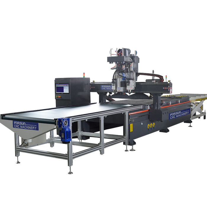 Automatic Loading and Unloading Nesting CNC Router Machine