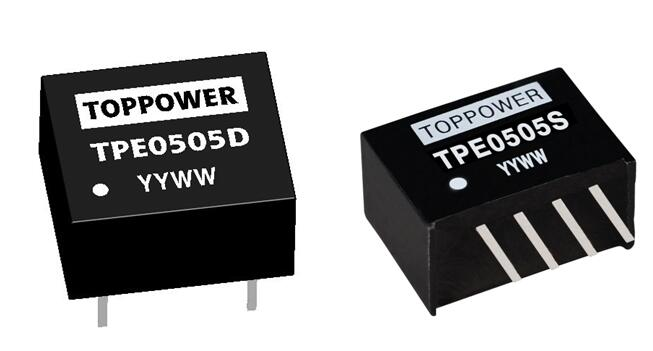 1W 1.5KVDC and 2KVDC Isolated Single Output DC/DC Converters