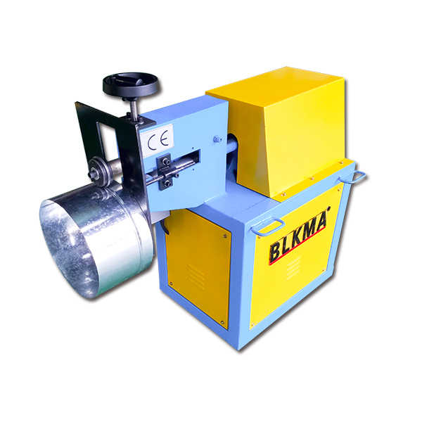 Round Duct Grooving Machine