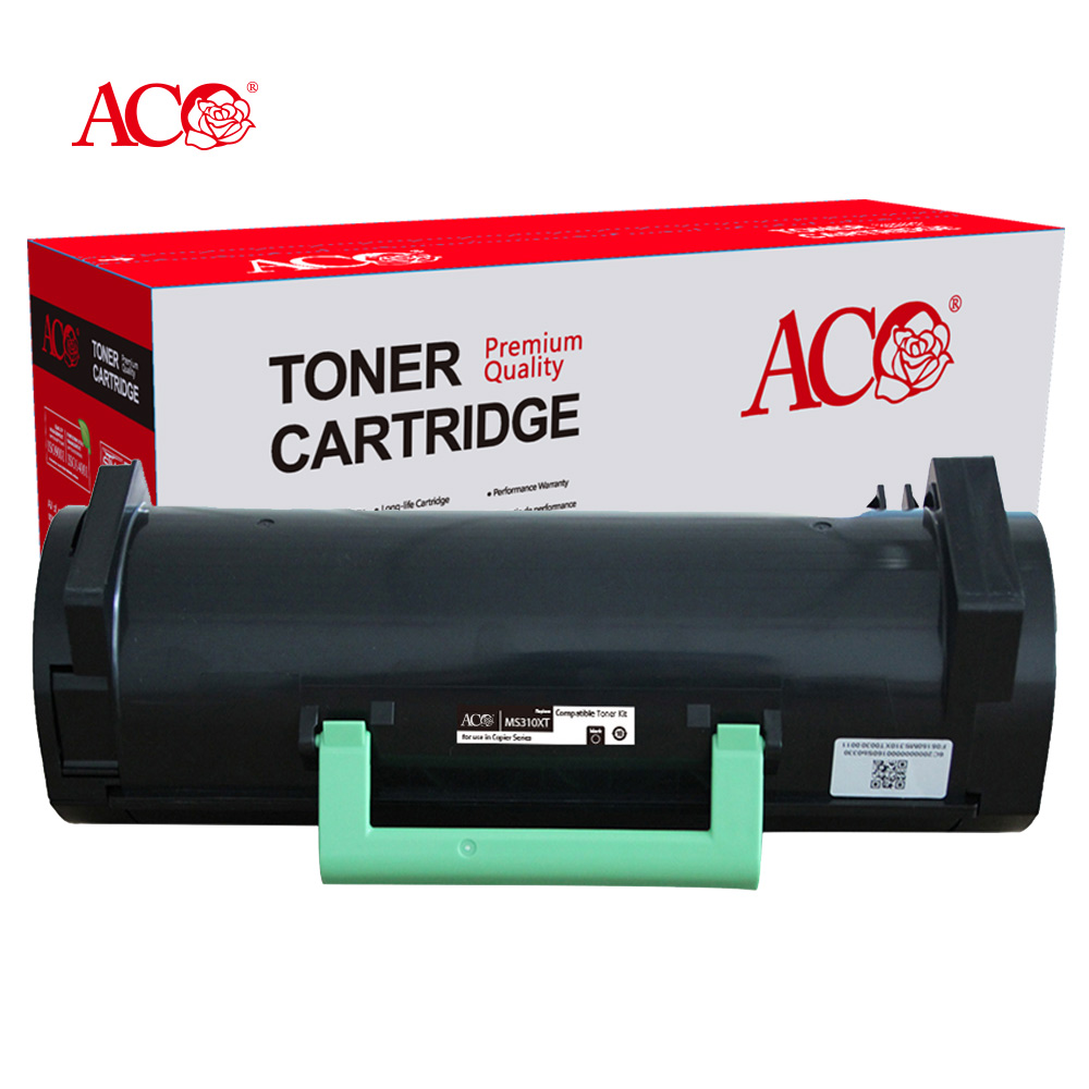 ACO Manufacturer Wholesale High Quality Laser Toner Compatible For Lexmark MS310 MS410 MS510 MS610 MS312 MS315 MS415