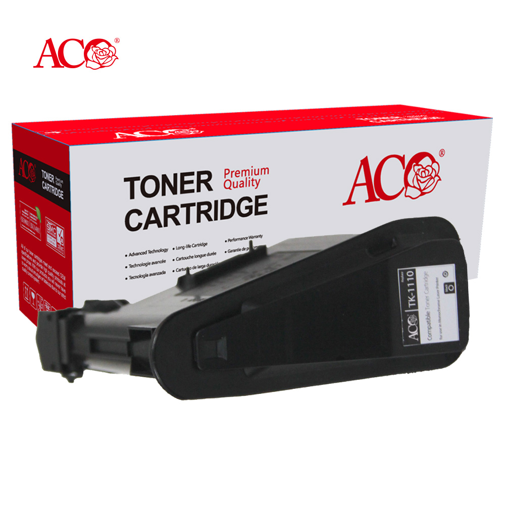 ACO Factory Wholesale High Quality TK 1100 1100 1115 1120 1125 1130 1140 1145 1150 1160 1170 Compatible Toner For Kyocera