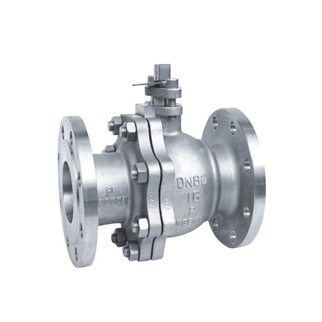 Flanged WCB Ball Valve