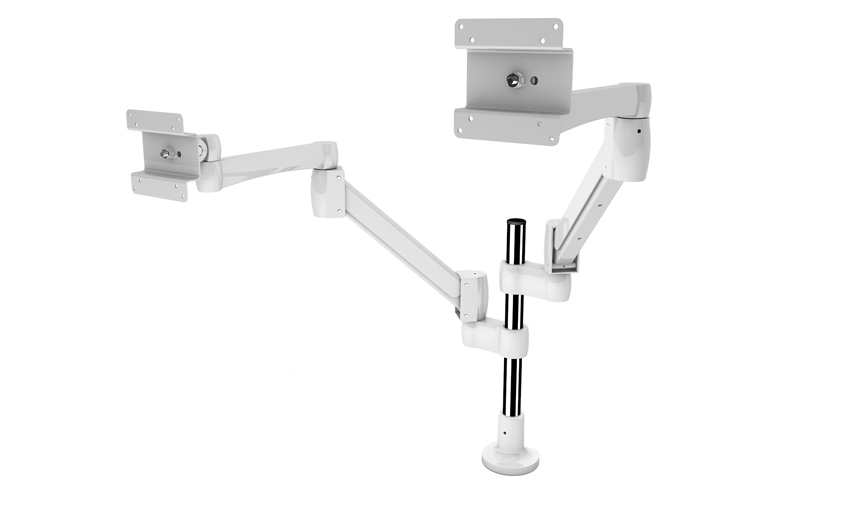 Fully Adjustable Premium Single LCD Monitor Arm Desk Mount
