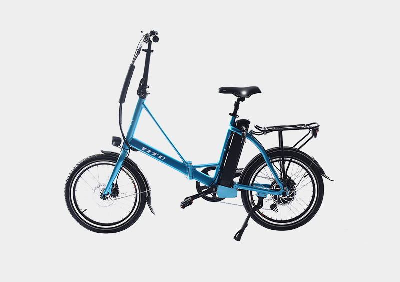 silver fish battery 20 inch folding electric bicycle