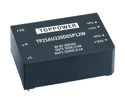 25~30W 3KVAC Isolation Wide Input AC/DC Converters