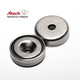 Countersunk/Counterbore Pot Magnets