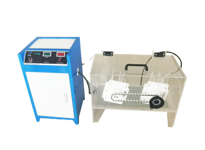 MANUAL NYLON/POLYESTER FLOCKED SWABS MAKING MACHINE