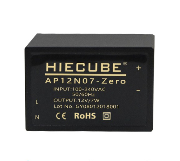 Acdc Switch Power 220V To 12V Isolated Power Module 7W Low Ripple