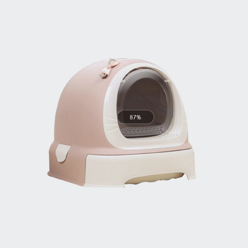 QUALITY PLASTIC CAT LITTER BOX TOILET CLOSED CAT LITTERBOX MOULD