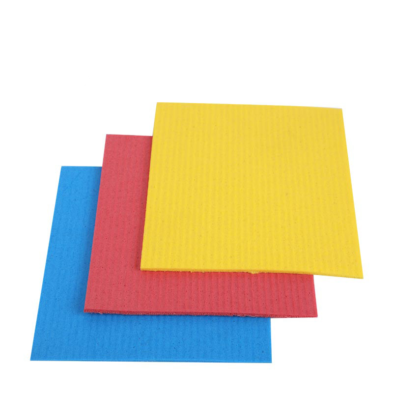 KITCHEN CLEANING MICROFIBER CELLULOSE POLYURETHANE SPONGE CLOTH DISPOSABLE MICROFIBER CLOTHS