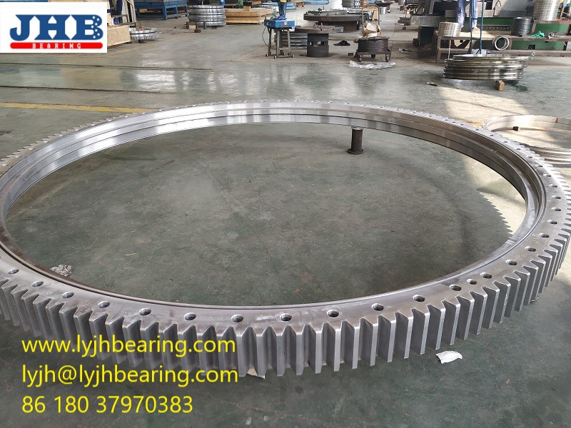 142DBS101Y four point contact ball Slewing bearing 1750x1424x120mm