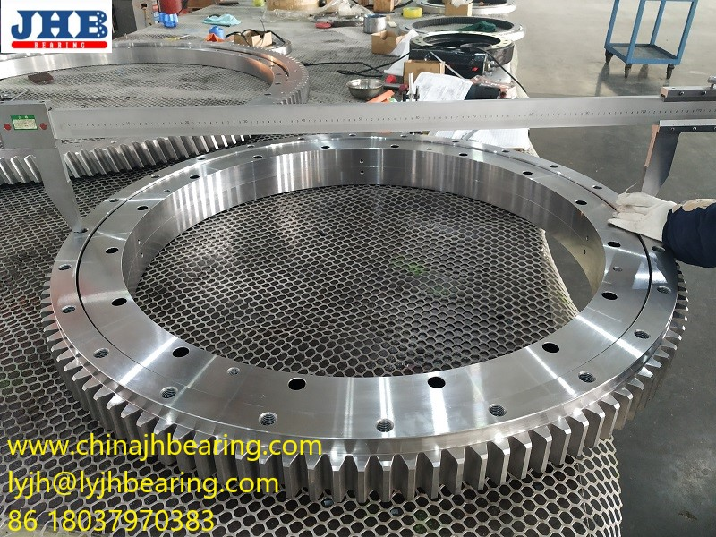 Double row ball Slewing/turntable bearing 5014 with size 1143*880*105mm