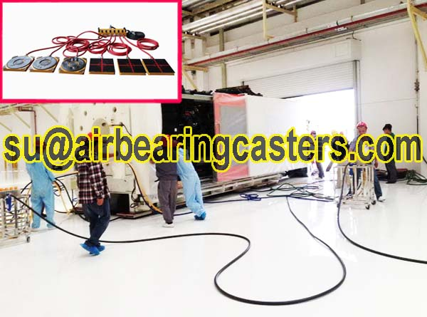 Air bearing casters is safety and durable