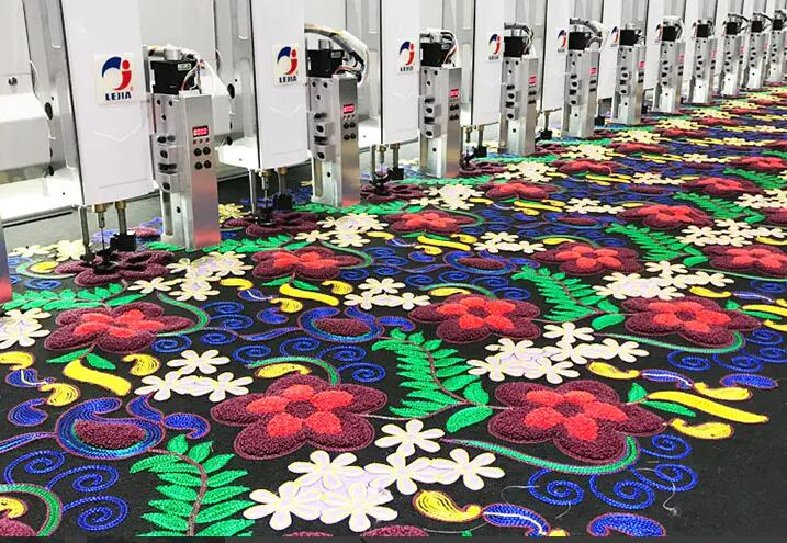 Lejia Chain stitch embroidery machine