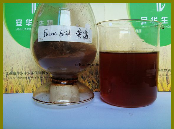 Soluble Fulvic acid fertilizer