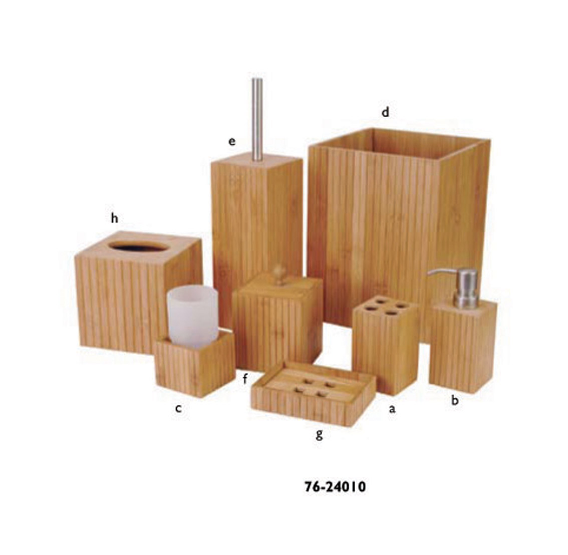 Bamboo Bathroom Utensils From China