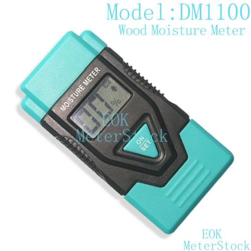 Wood moisture meter dm1100 finished instruments for Wood floor moisture meter