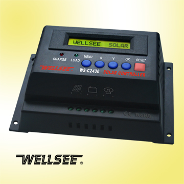 WELLSEE charge controller WS-C2430 20A 12V/24V
