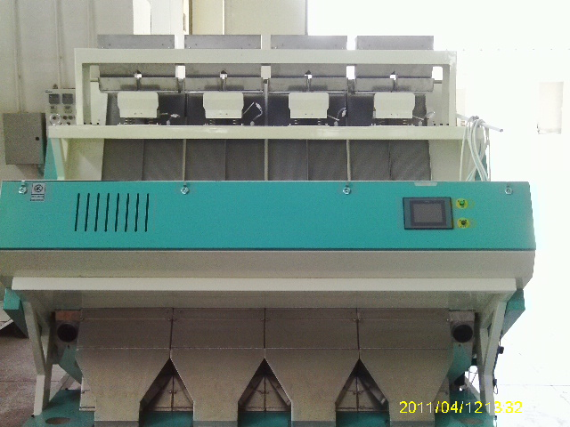 Buhler Yijiete 6SXM CCD 320 rice/cereals color sorter