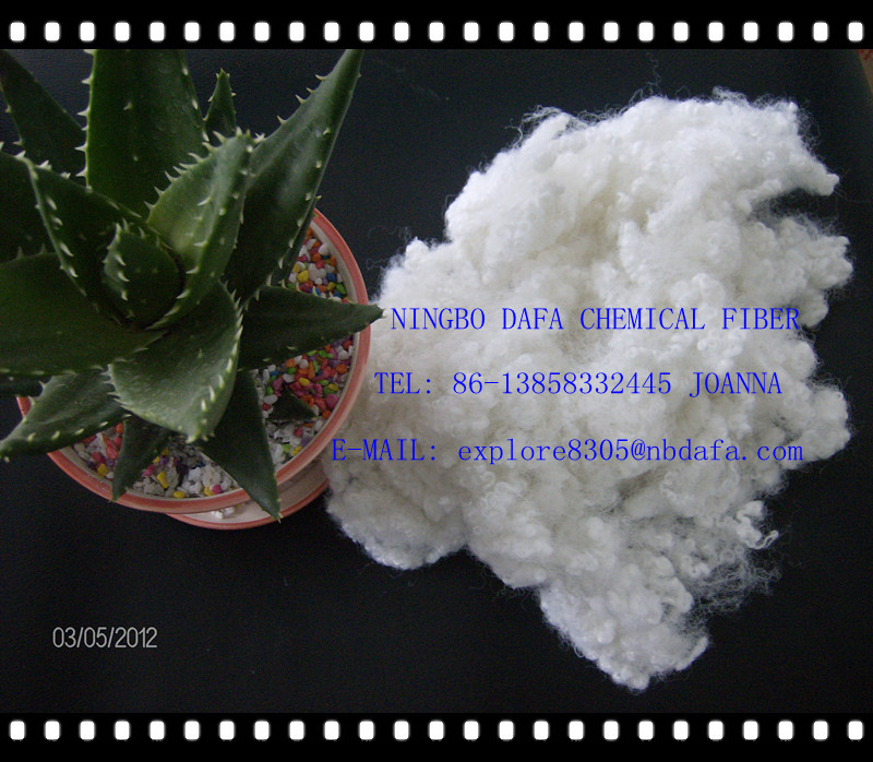 sell hollow conjugated polyester pet staple fiber