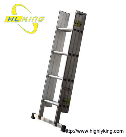 Aluminium folded loft ladder/attic ladder(HL-303)
