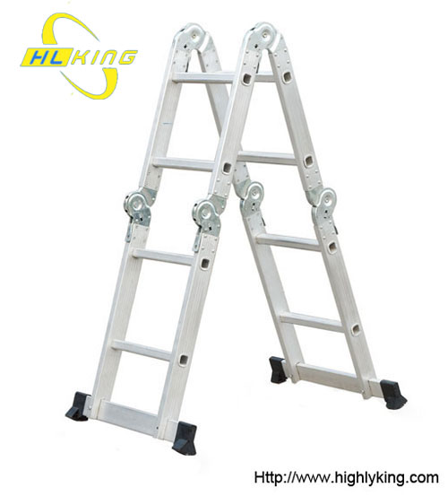 Aluminium domestic folding Multi-purpose ladder(HM-102)