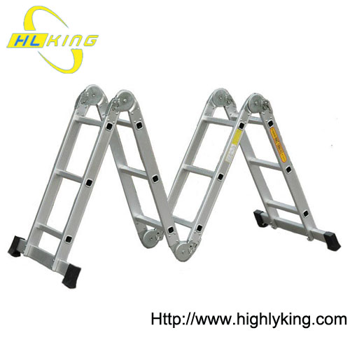 Aluminium collapsible Multi-purpose ladder(HM-203)