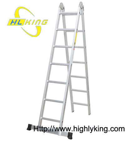 Aluminium folding Multi-function ladder(HM-527)