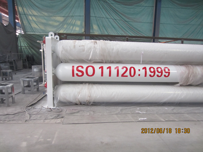 Supply steel ISO11120 CNG cylinders