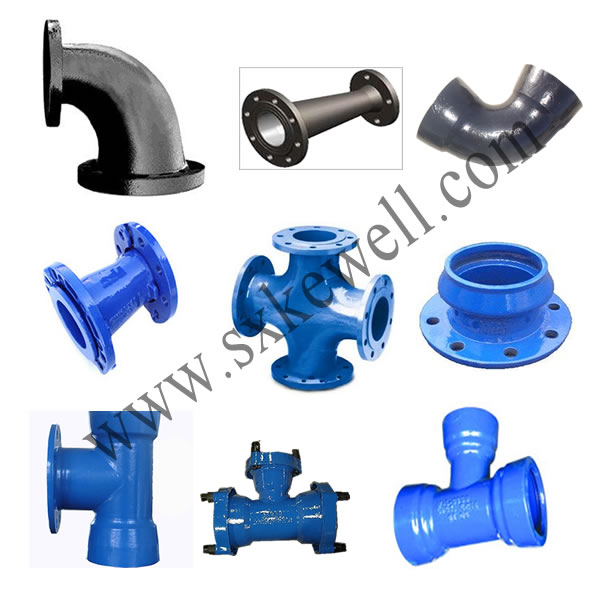 Ductile iron pipe fittings health and medical services